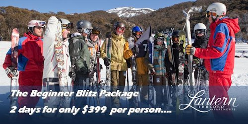 Thredbo Beginner Blitz Packages