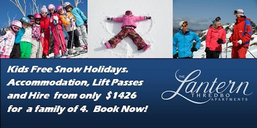 Thredbo Kids Free Snow Packages