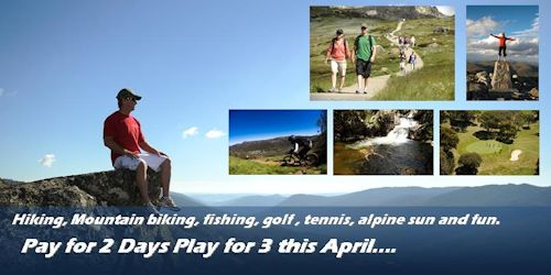 April School Holidays 3 for 2 Deals