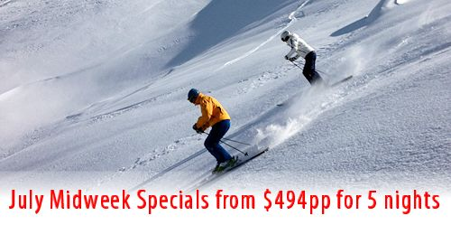 Stay midweek for Thredbo Specials