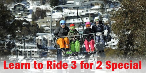 Thredbo Learn to Ride Special