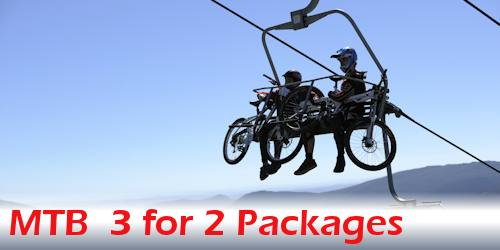 Mountain Bike 3 for 2 Package