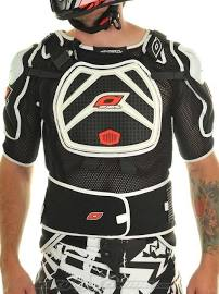 Chest protection comes in short and long sleeve options