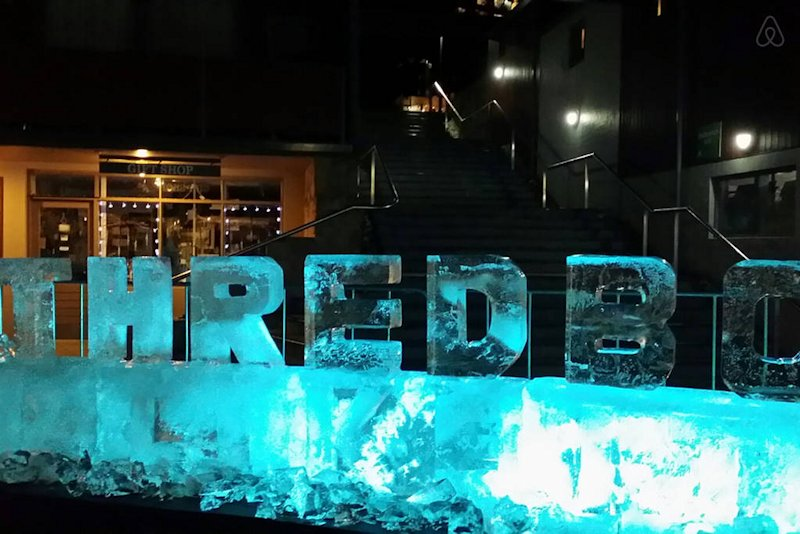 Ice Carving in Thredbo