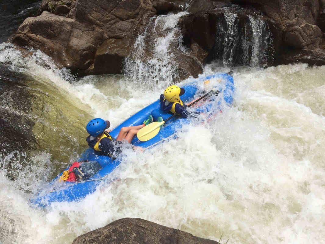 Rafting on The Murray River near Thredbo