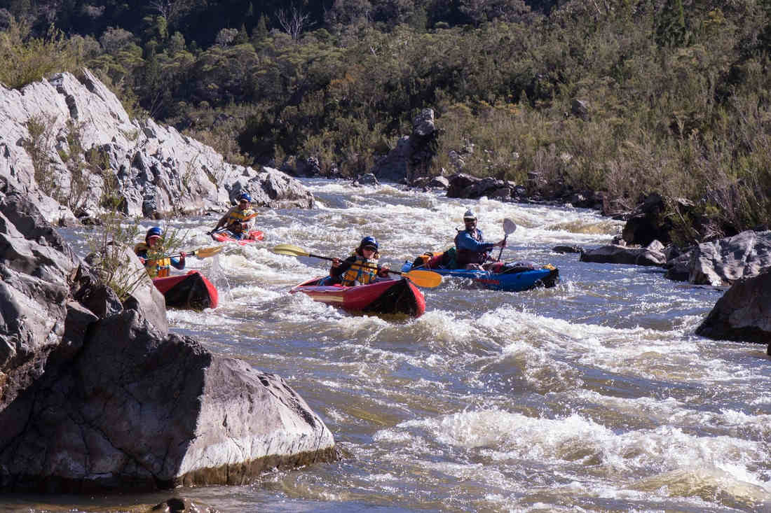 White Water Rafting in the Snowy River