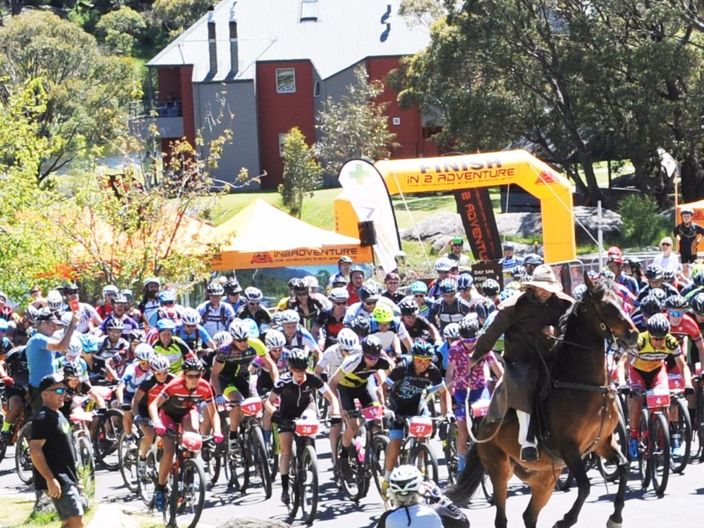 The Fun begins at the Snowies MTB Festival