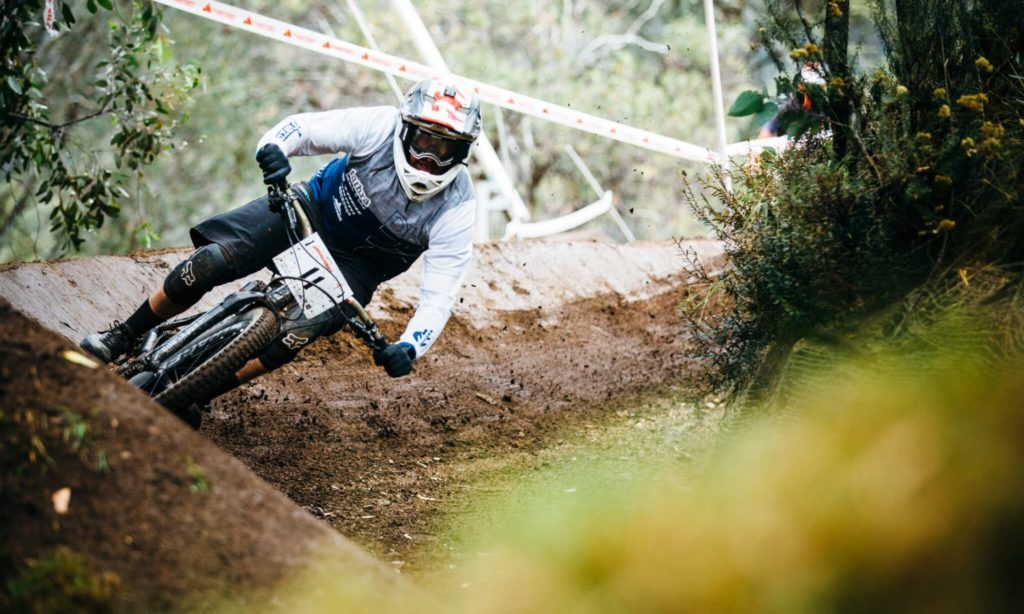 The Super Enduro in action in Thredbo