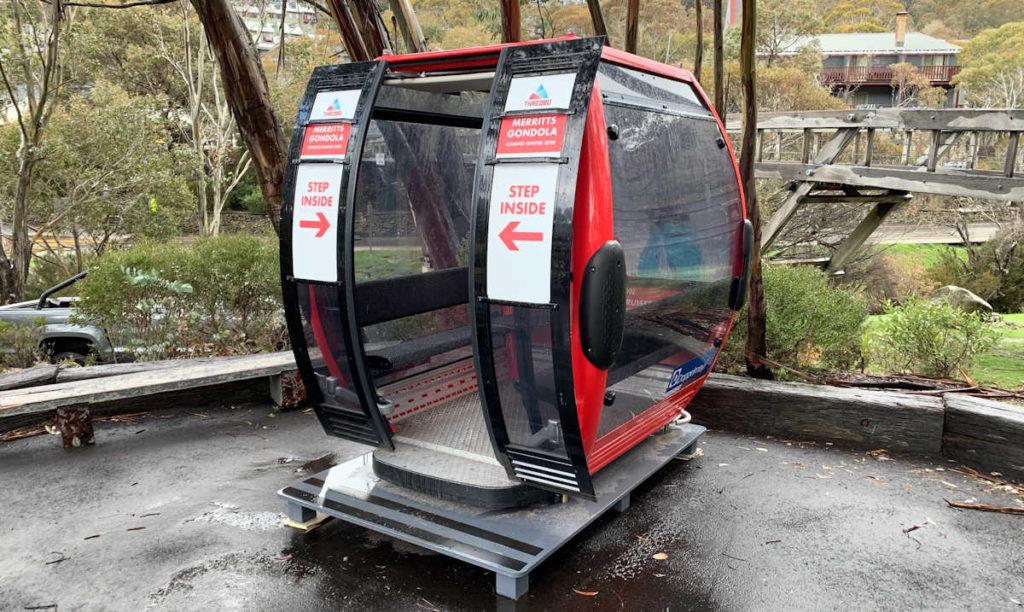 Thredbos New Gondola is on the way