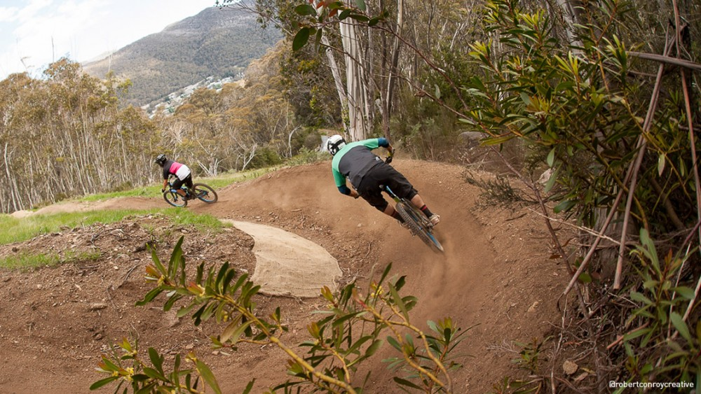 MTB Riding is a Summer season option for the new lift