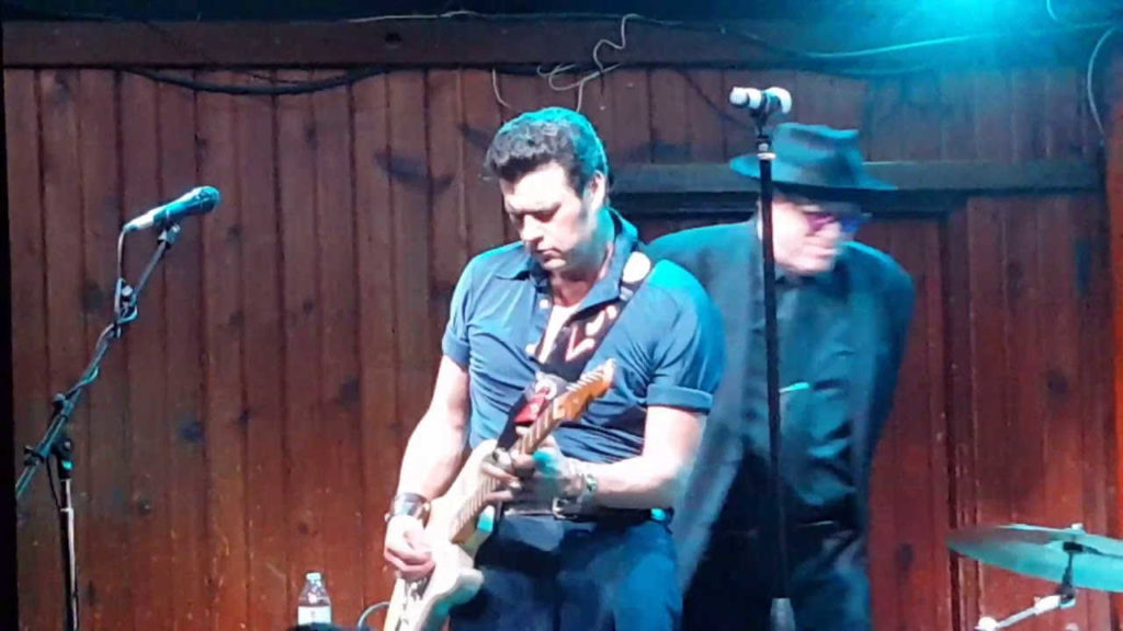 Tyrone Vaughan has some awesome Blues Genes