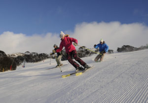Thredbo_Skiing_Corduroy_Snow