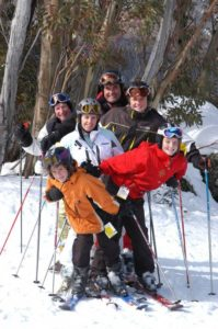 Thredbo Family on Snow