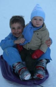 Tobogganing is great fun for all ages
