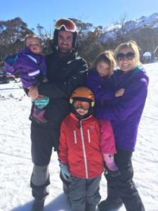 The Hulley Family at Thredbo