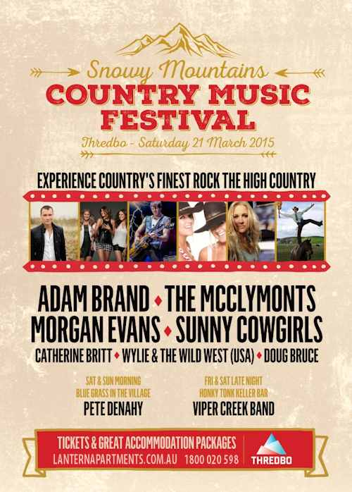 Snowy Mountains Country Music Festival in Thredbo