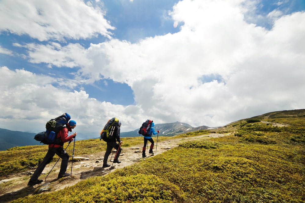 Hiking the beautiful Mount Kosciuszko