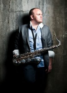 Sax and smooth tones are Nic Jeffries stock in trade