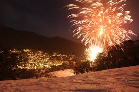 Snow Season Fireworks in Thredbo