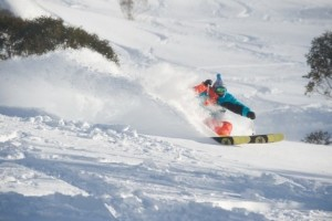 Fresh Powder snow in Thredbo