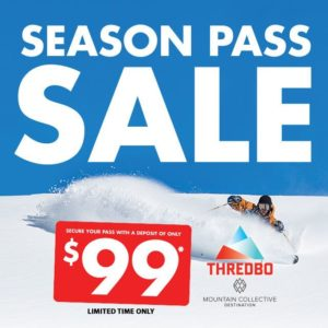 Thredbo 365 Pass Sale