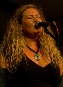 One of the Blues Belles coming to Thredbo