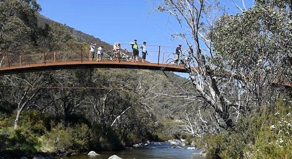 Thredbo Valley Trail Bridge
