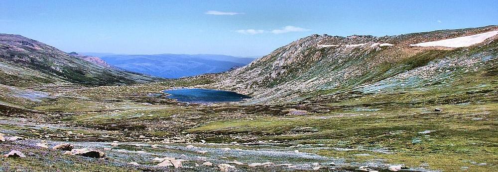 Mountains near Thredbo alpine apartments