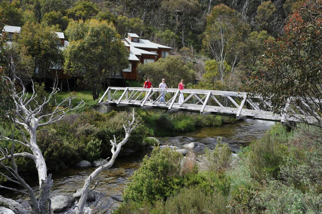Bridge near Thredbo accommodation