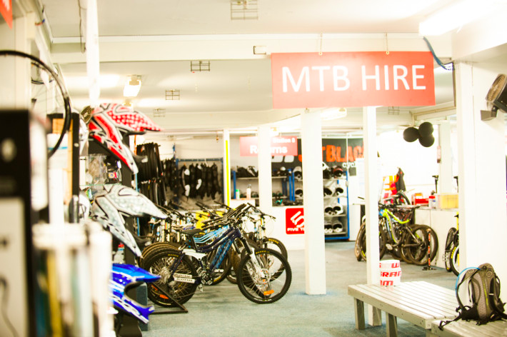 Thredbo bike shop