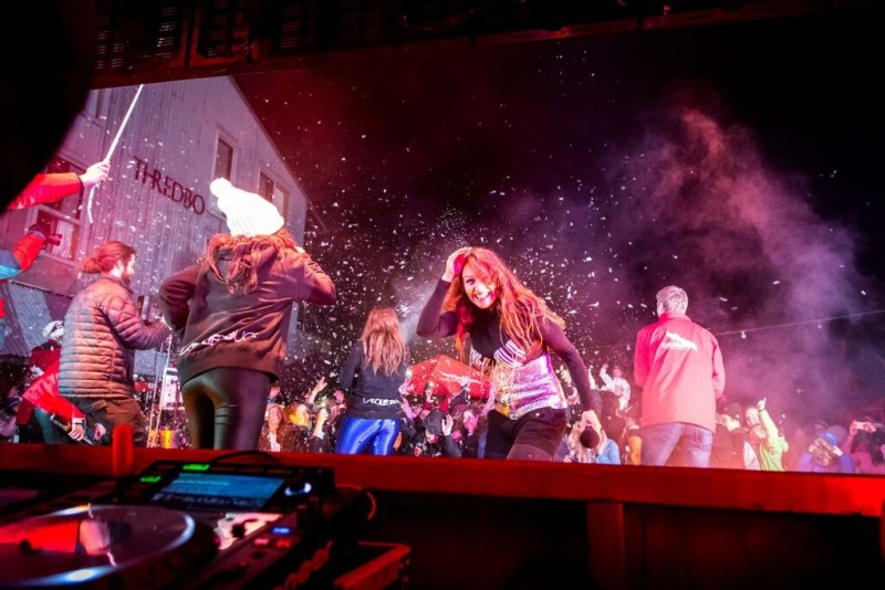 Thredbo Parties with the Folie Douce in 2015