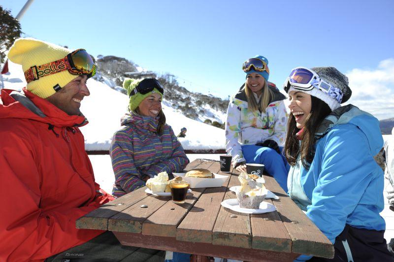 Thredbo ski cafe