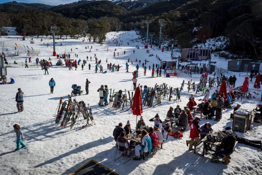 Thredbo ski hill