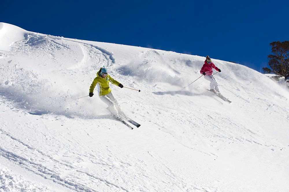 Thredbo skiiers