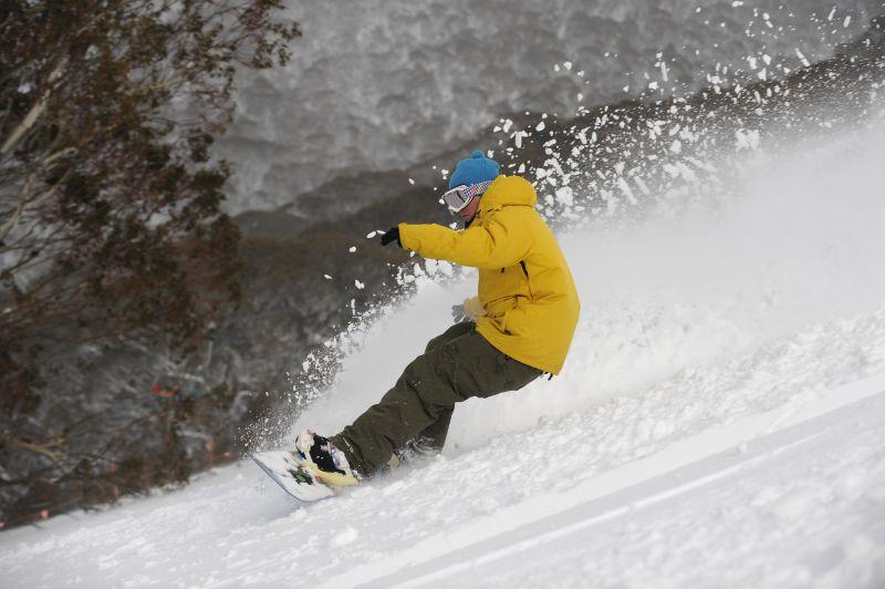 Thredbo snowboard