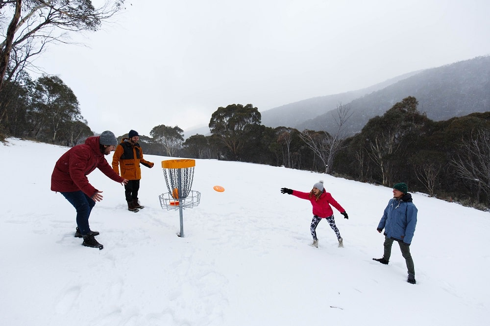 Experience the fun of disc golf